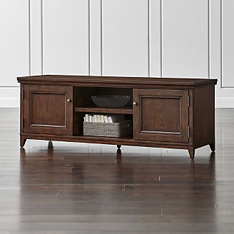 Harrison Cherry Modular Media Stand Family Room Decorating