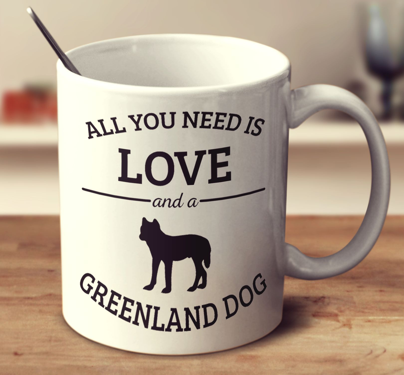 All You Need Is Love And A Greenland Dog