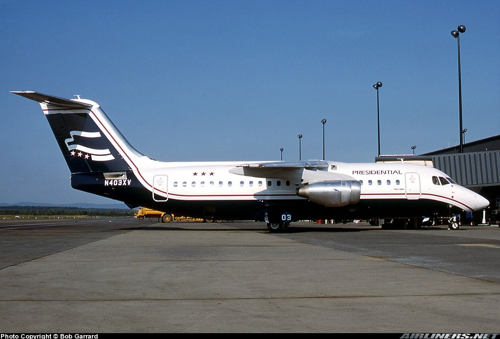 Presidential airways | Picture of the British Aerospace BAe