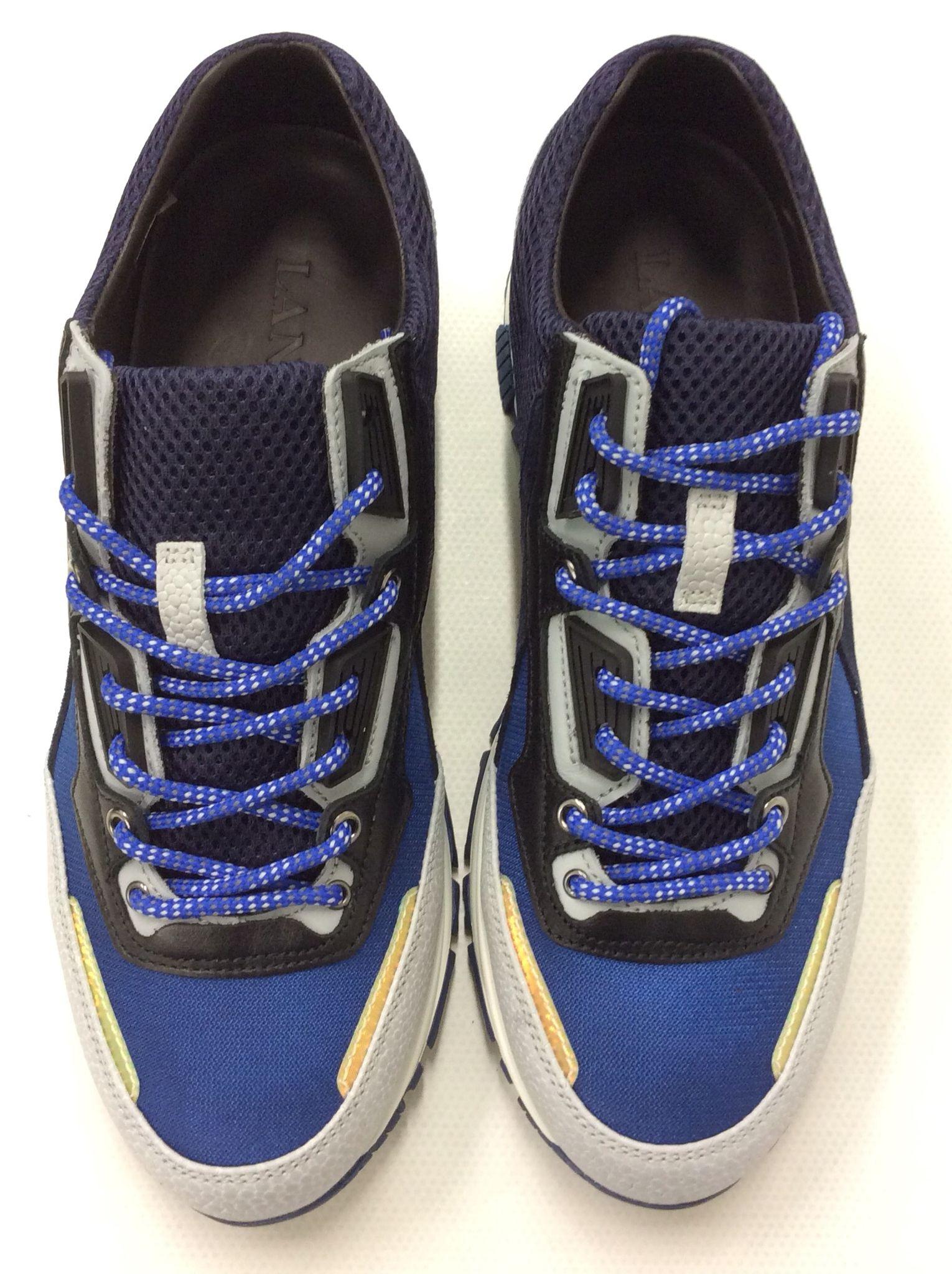 Cobalt sneakerBalmain Faux Frais De Port Offerts mroLcWP