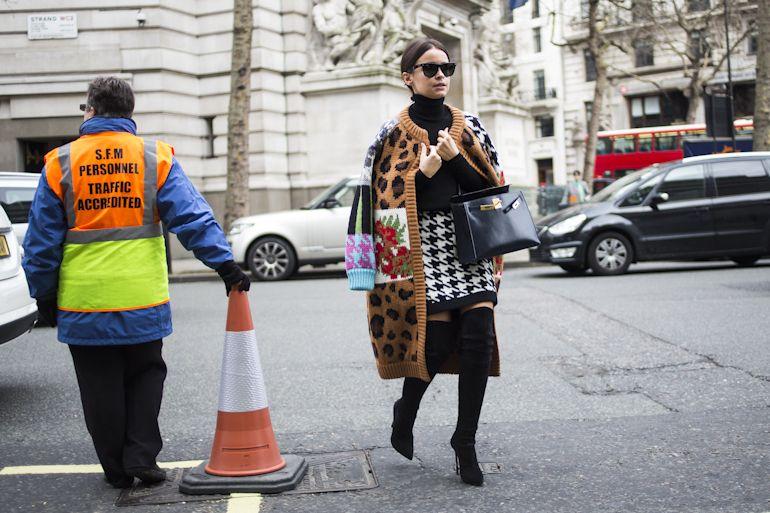 London Fashionweek fw2014, day 4 - outside Christopher Kane -  no release