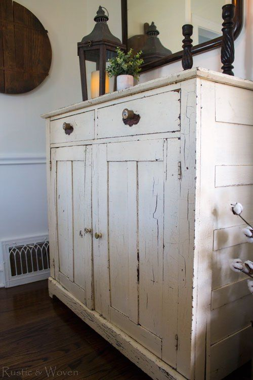 10+ Amazing Rustic Cabinets For Living Room