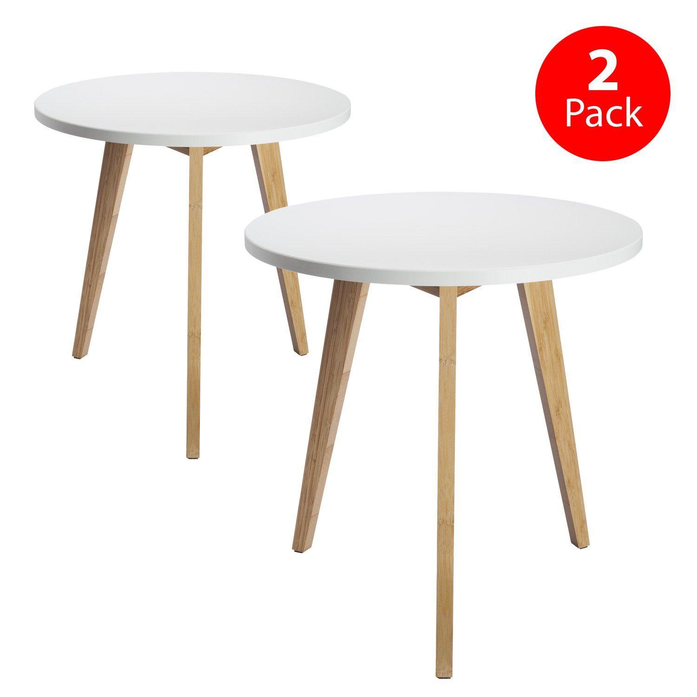 Amazon Com Stndrd Mid Century Modern End Table Perfect