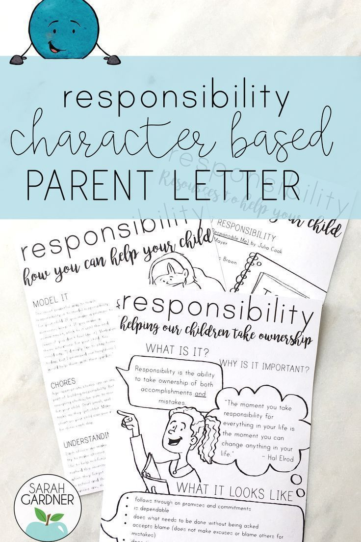 This parent letter is perfect to send home after your in