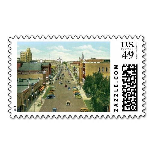 Salina Kansas KS Postage
