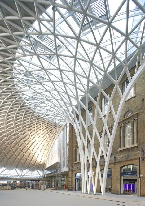 A Semi Circular Vaulted Concourse Designed By British Architects John Mcaslan Partners Will Op London Architecture Structure Architecture Modern Architecture