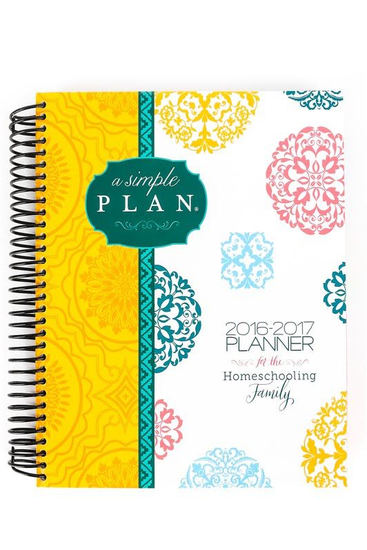 brand new 2016 2017 a simple plan homeschool planner review