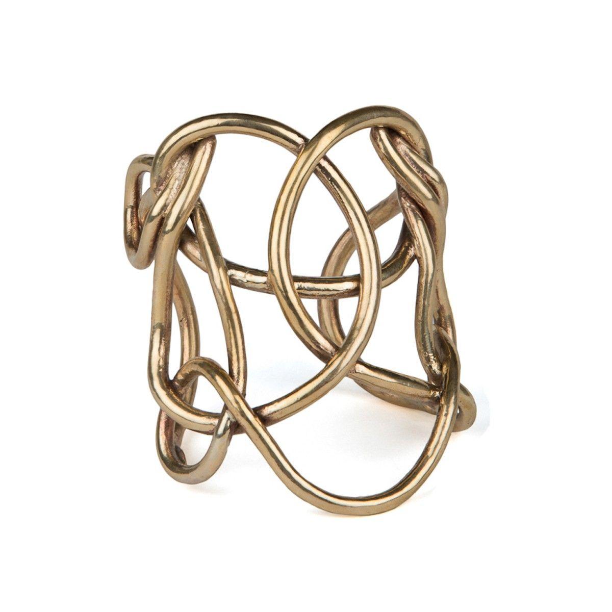 Solar Knot Cuff | Made by Aesa