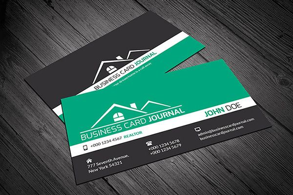 A modern realtor business card template available for free download a modern realtor business card template available for free download as vector or psd file flashek Choice Image