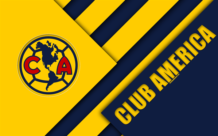 American Sports Material Wallpapers: Download Wallpapers Club America, 4k, Mexican Football