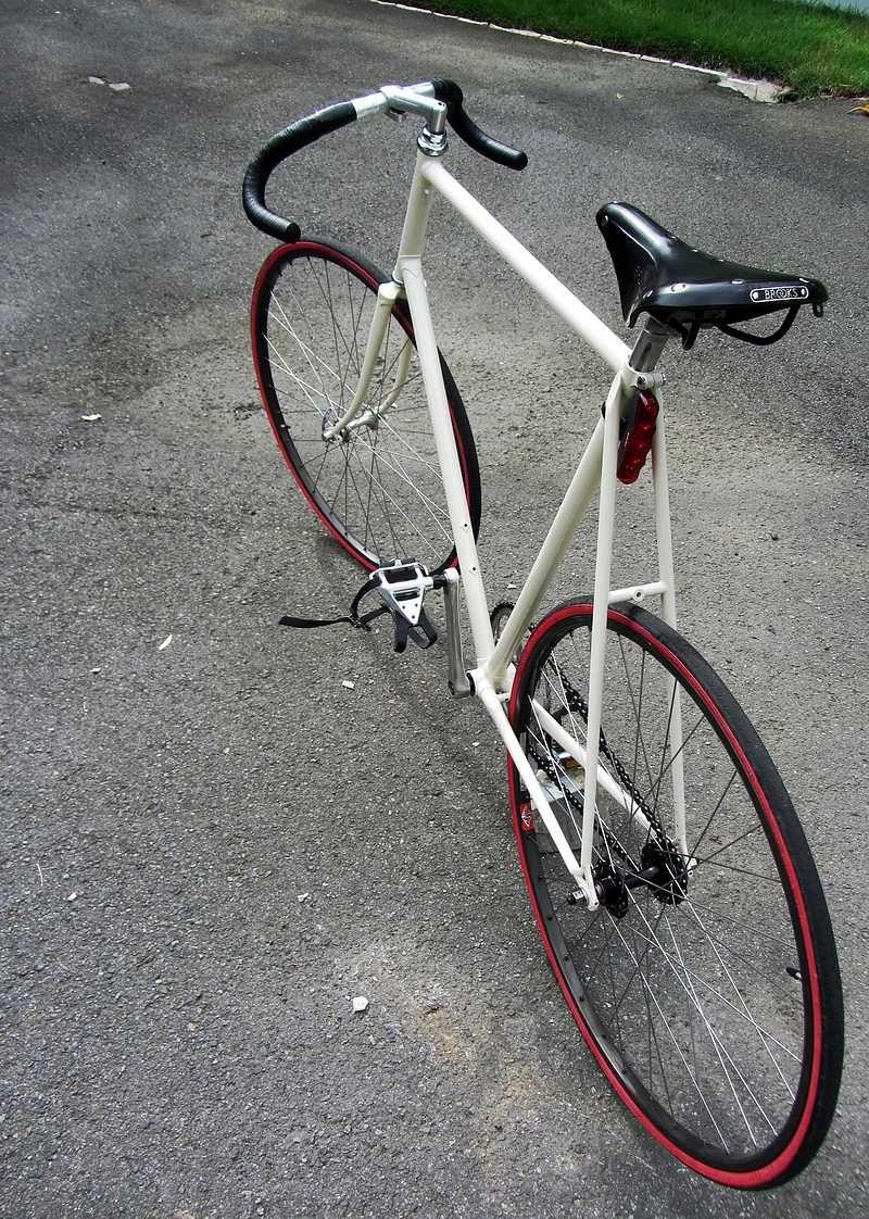 Angel Rodriguez's Schwinn Prelude, 1988   Bikes   Fixed gear