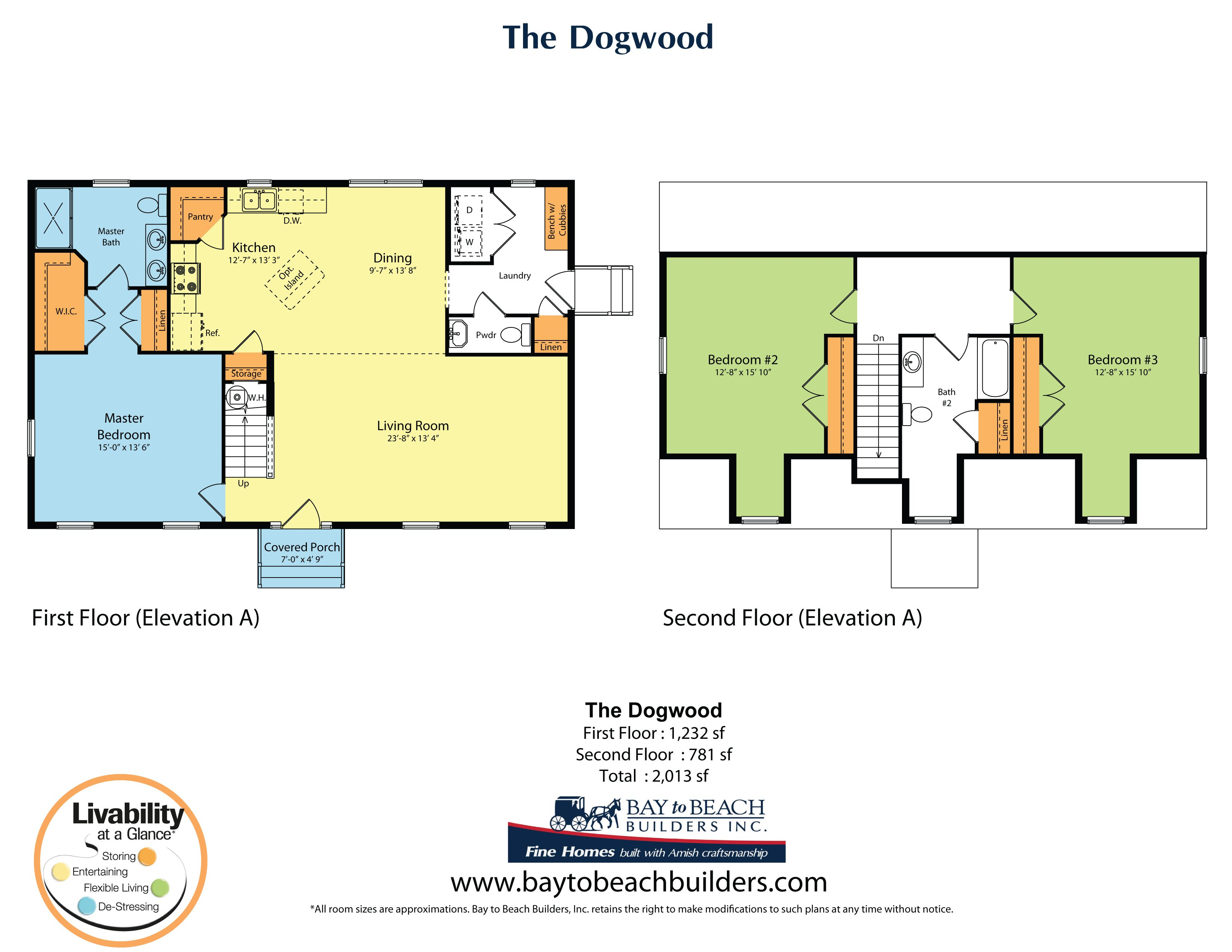 The Dogwood Bay to Beach Builders – Bay To Beach Builders Floor Plans