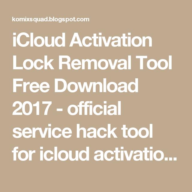 Hack for icloud скачать бесплатно