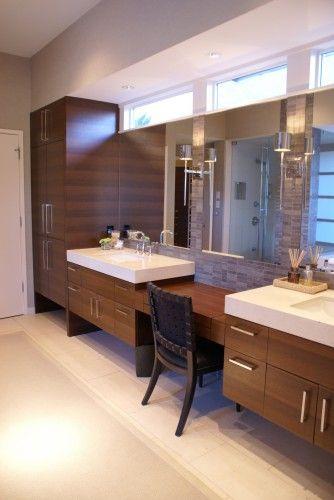 19+ Custom modern bathroom cabinets ideas