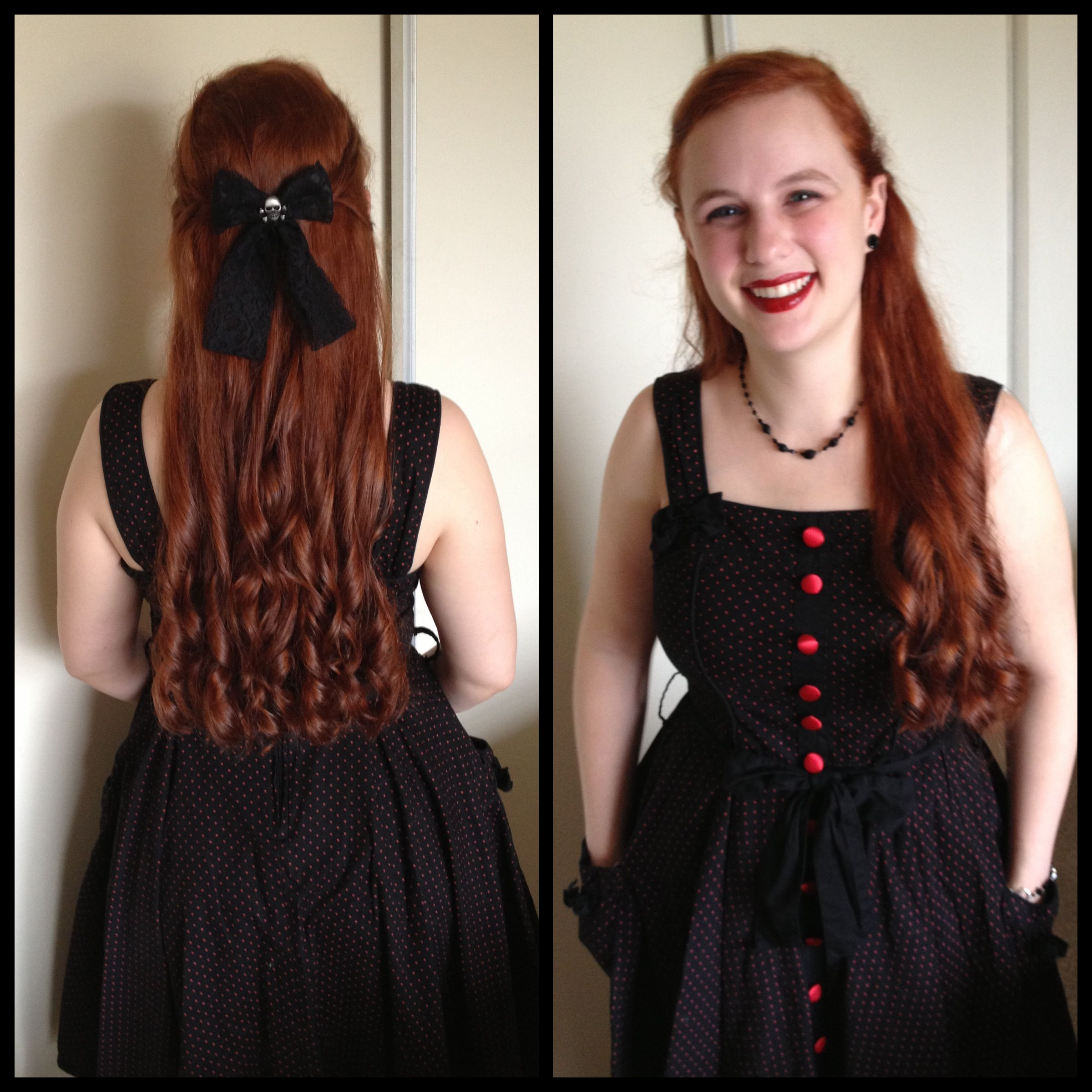 Long Curls In Pollyanna Style Long Curls Hair Makeup Style