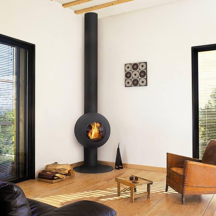 Kuschelig voru0027m Kamin - 13 Modelle, die dein Wohnzimmer bereichern - offene feuerstelle wohnzimmer