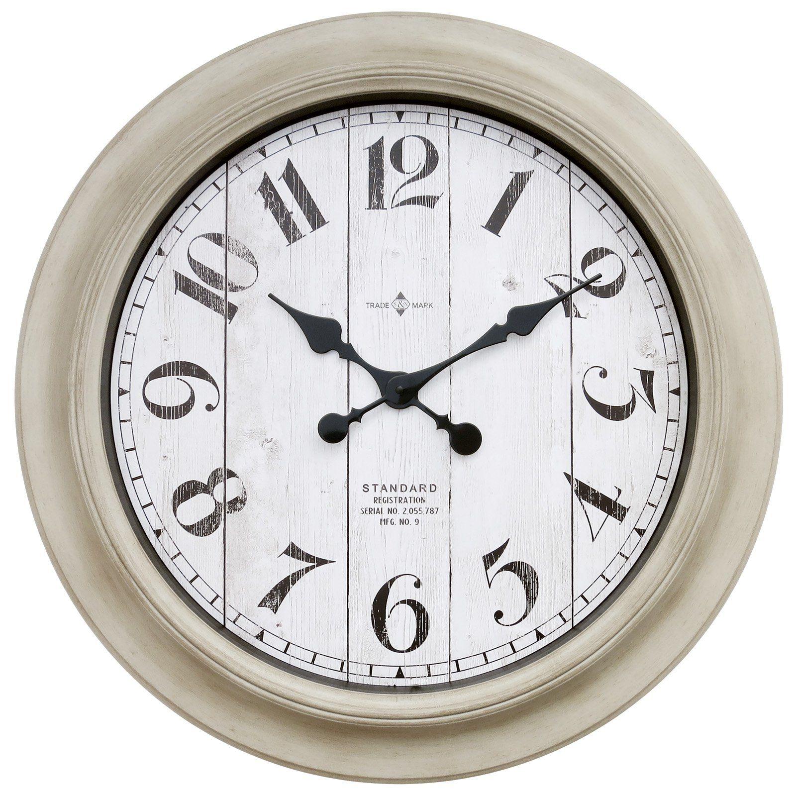 better homes gardens modern farmhouse 28 in wall clock on wall clocks id=12842