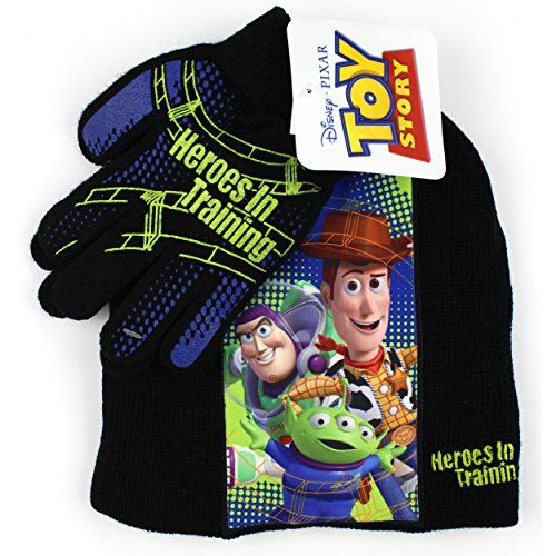 Toy Story Winter Hat Glove /& Scarf Set with Gift Box for 5-13 Years Boys