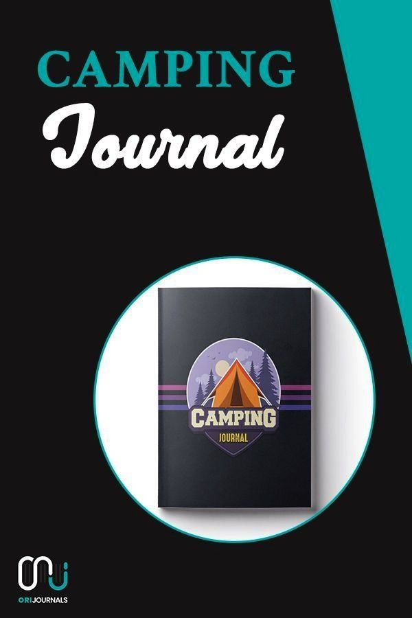 Journal: ~ Camping Travel Journal for Campers (Camping Badge Edition V5)! Blogging for beginners, B