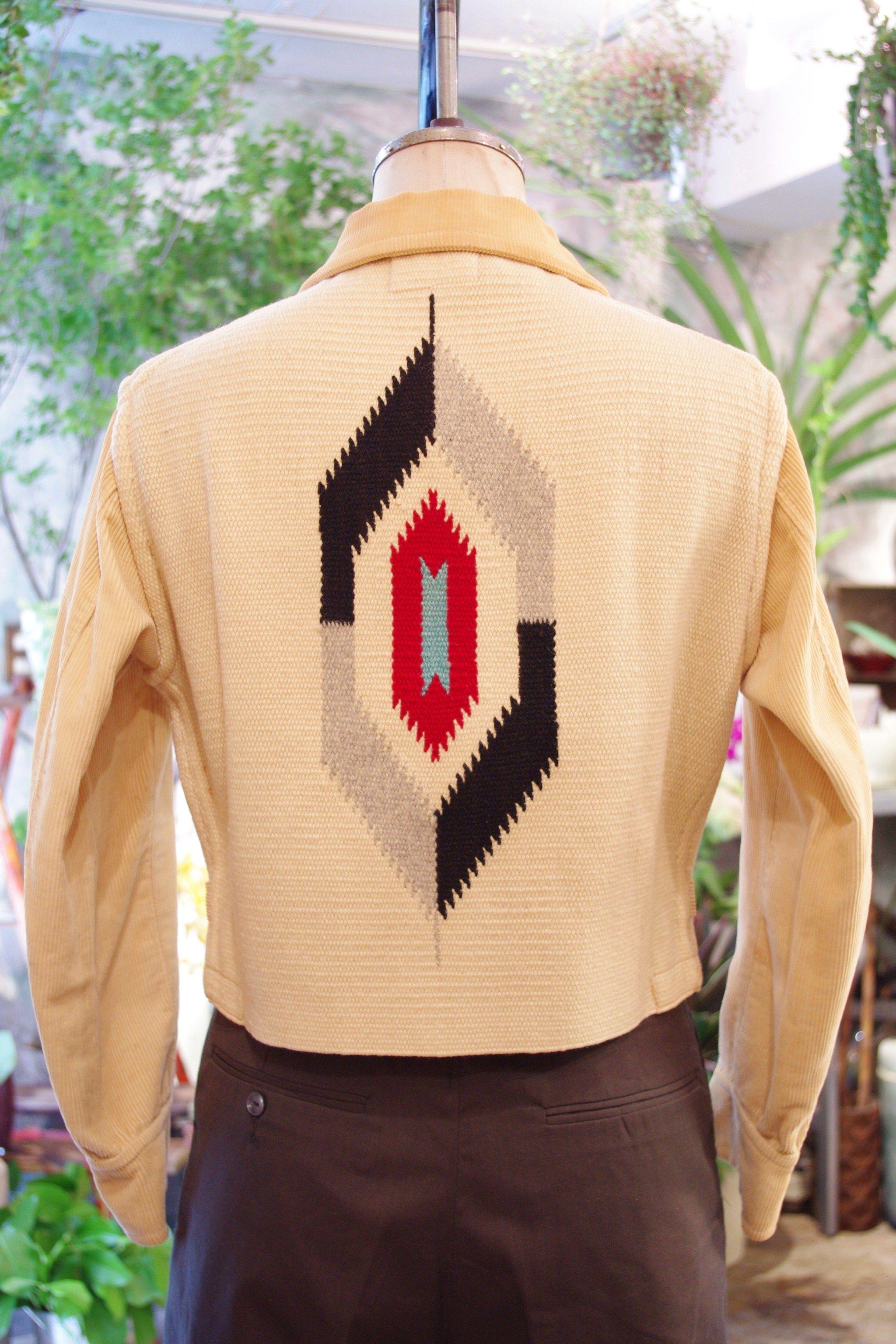 Amazing Late 1960/'s Southwestwrn Bohemian Woven Vest