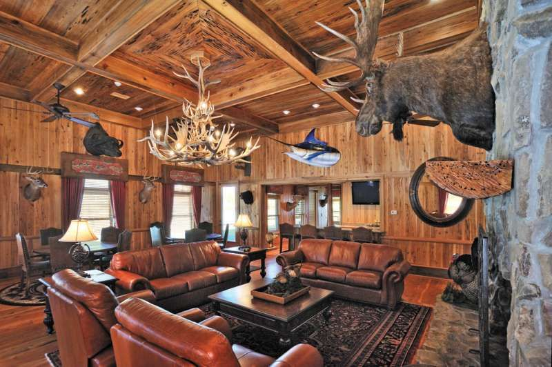 Hunting Lodge Interior The Outdoor Group Broadcast