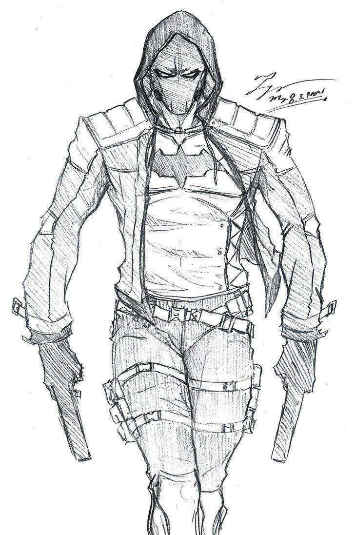 Dibujos Para Colorear De Capucha Roja Busqueda De Google Superheroes Dibujos Personajes Comic Batman Dibujo