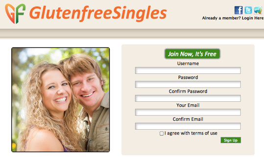Single and Gluten-Free? There's a Dating Site For That