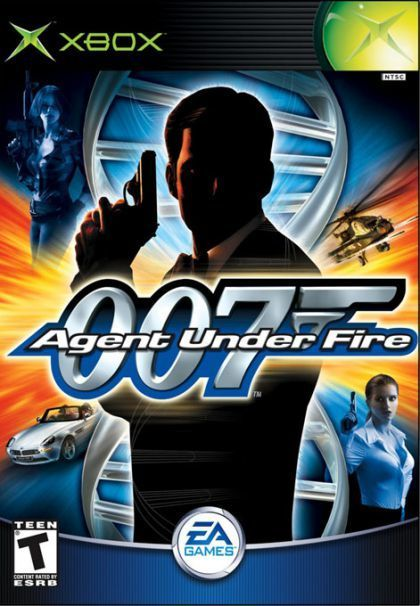 007 Agent Under Fire Xbox Game James Bond Xbox Games Video Games