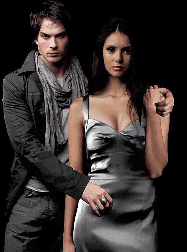 Damon and elena real life dating