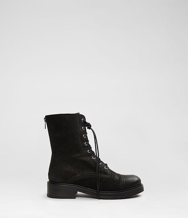 Womens Vespers Boot (Black) | ALLSAINTS.com