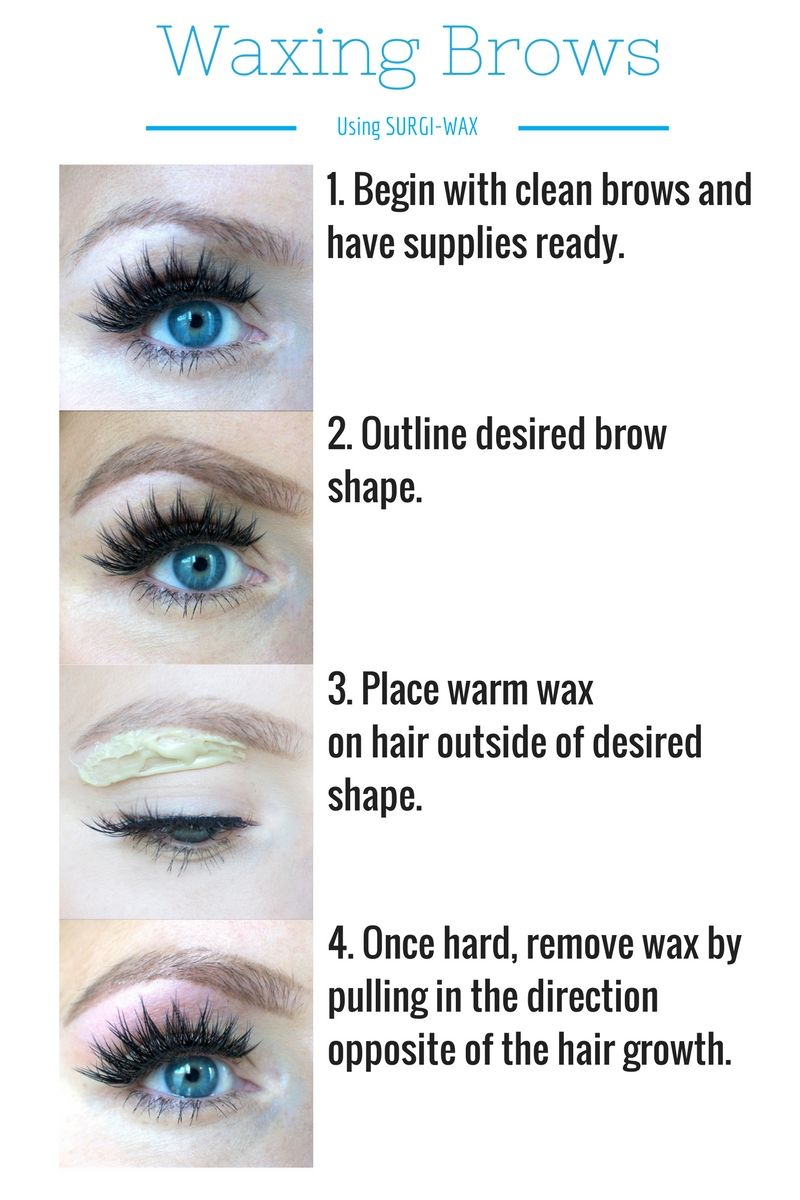 How To Wax Your Own Eyebrows Kara Mettaafts Diy Refashions