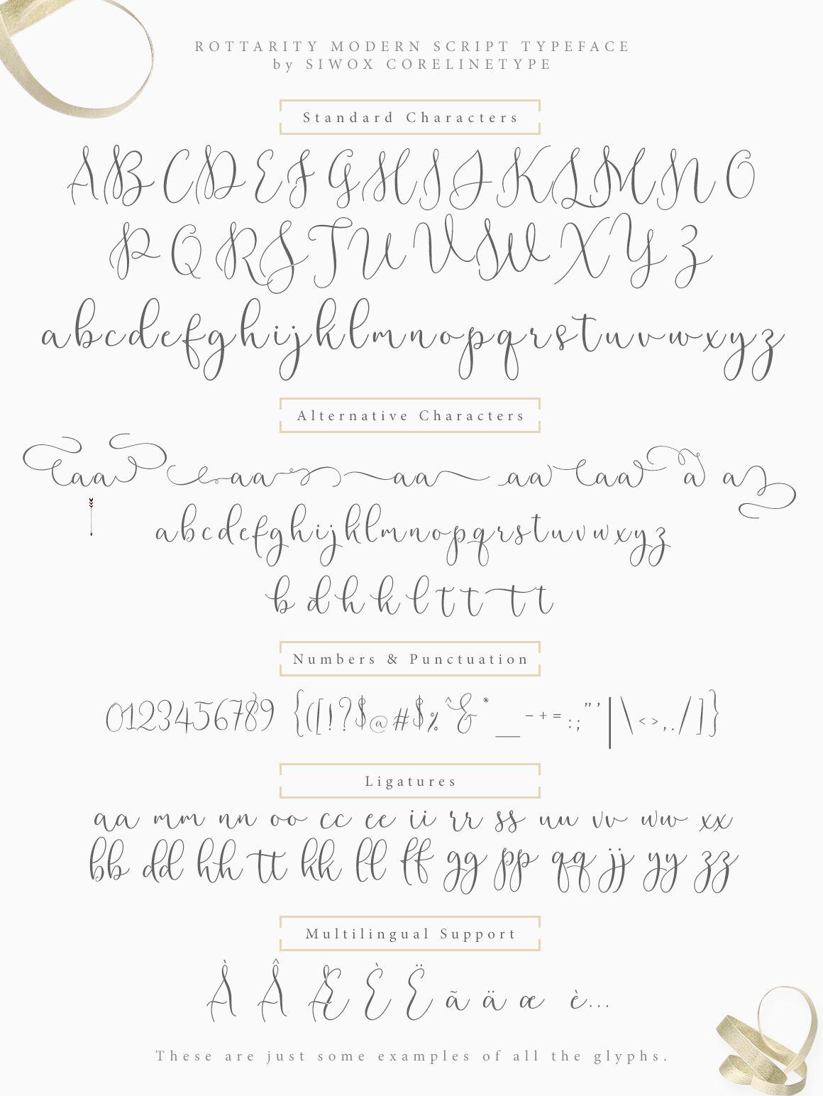 Rottarity Script Font