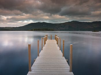 Lake District Jetty photographed by Assaf Frank