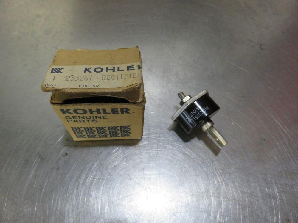 Kohler 233261 Rectifier Regulator OEM Old Stock. Kohler