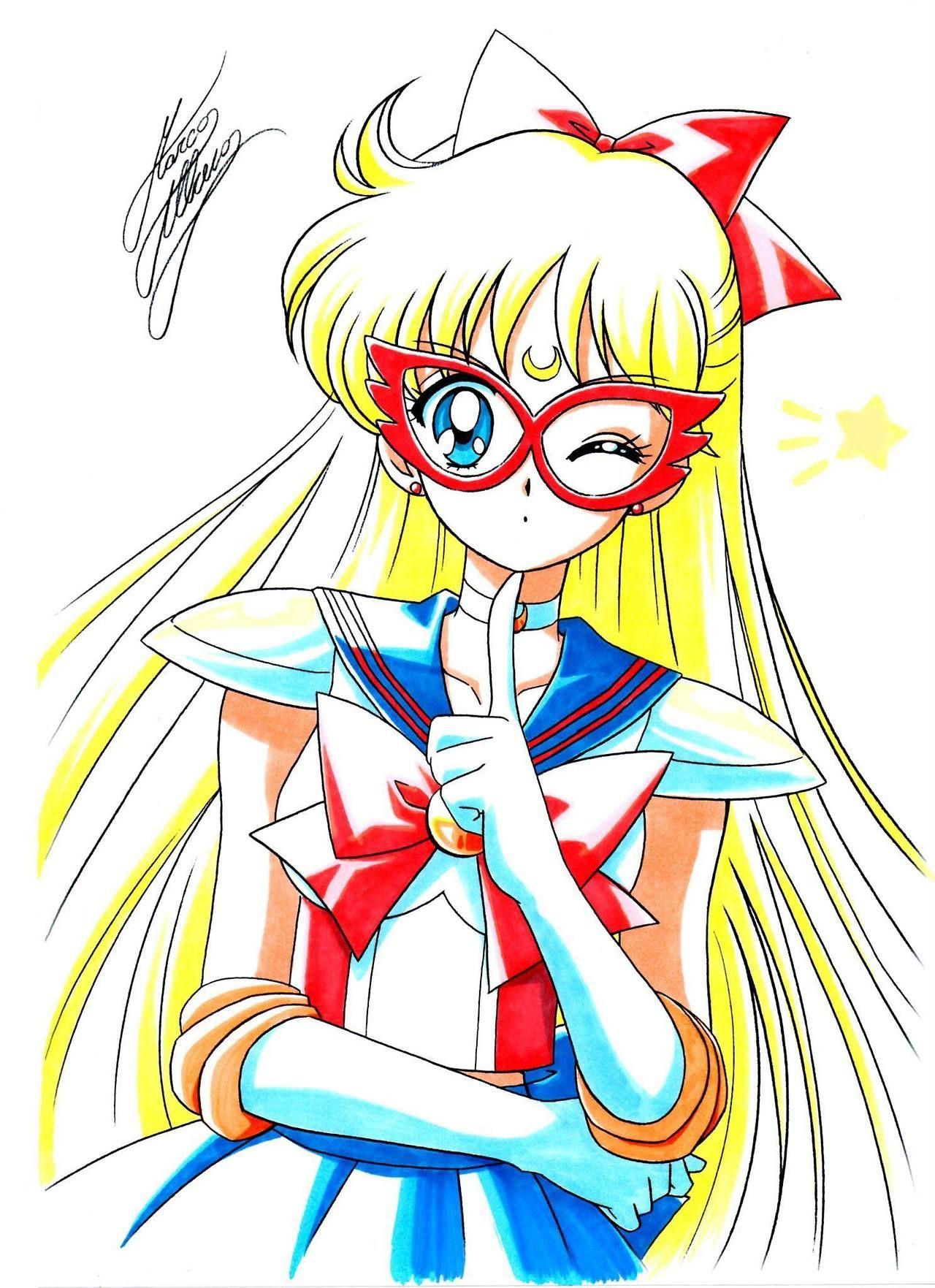 Dibujos, Arte Sailor Moon