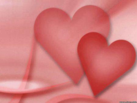 Red hearts - love, hearts
