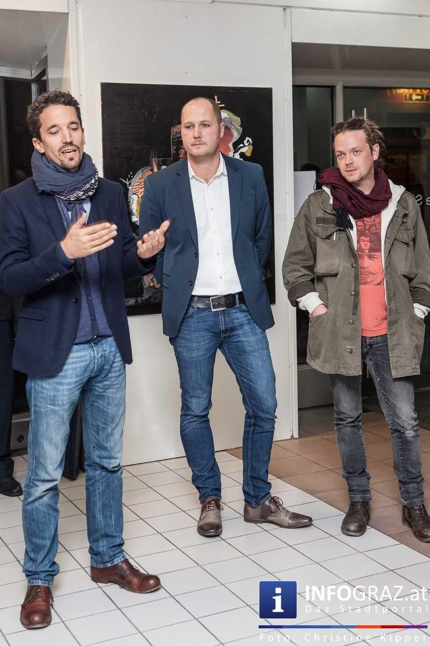 Vernissage Josef Wurm Non Epiphanies Galerie Sommer Graz 22
