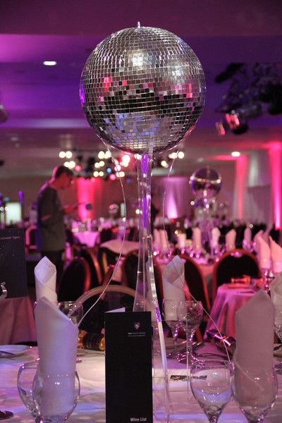 Disco Ball Table Decorations Glamorous 3D Mirrored Ball Centerpiece Model  Mirrored Ball Centerpiece Review