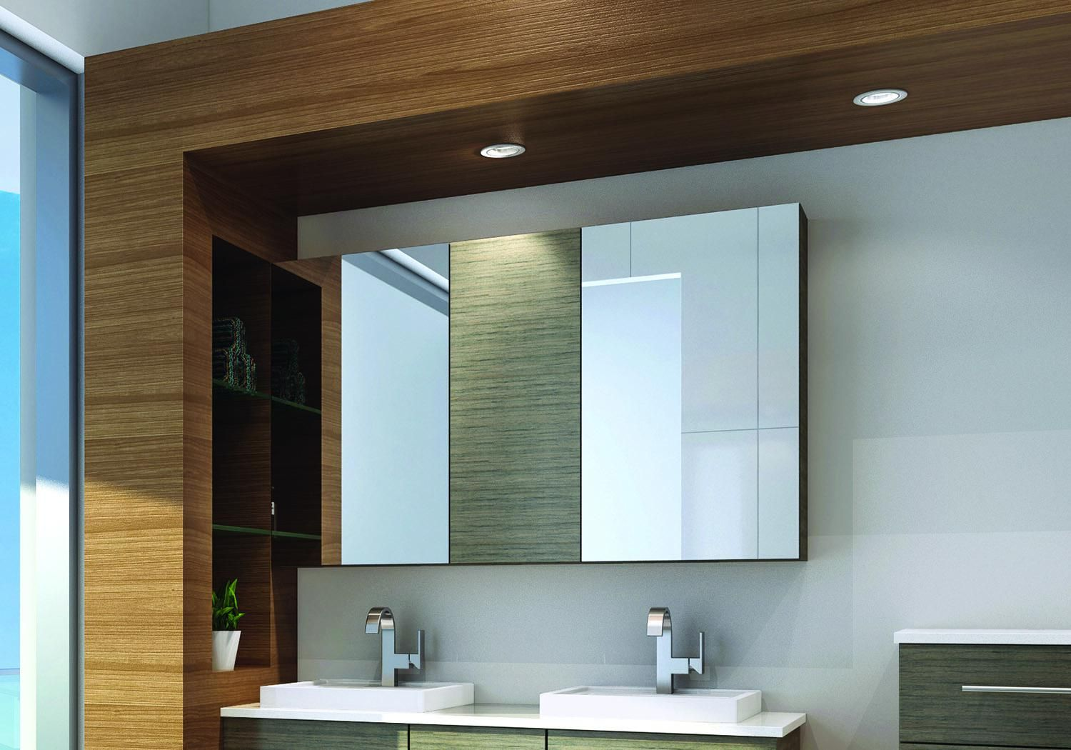 Great Bathroom Wall Mirror in 2020 | Mirror wall bathroom ...