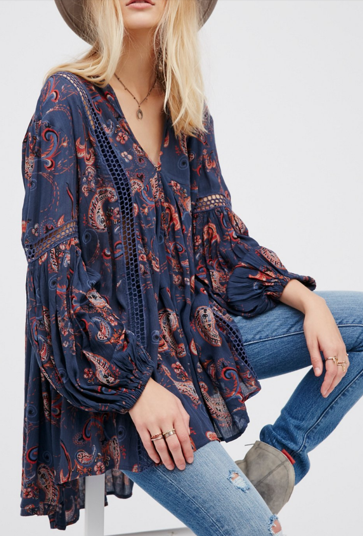 489831fca90 Just The Two Of Us Tunic Estilo Boho Chic, Estilo Hippy, Affordable Fashion,