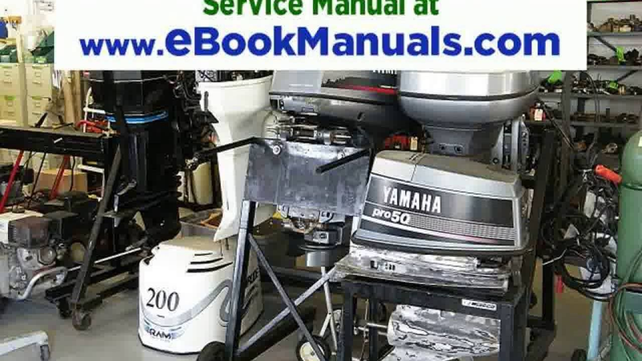 Download 1990 2001 Evinrude Johnson Outboard Service Manual 1 Hp To 300 Outboard Boat Motors Repair And Maintenance Repair Manuals