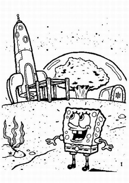 Free Printable Spongebob Squarepants Coloring Pages | kid ...