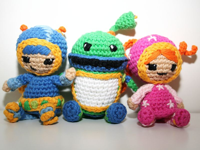 Team Umizoomi | meine Kreationen / my creations | Pinterest ...