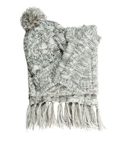 British Wool Aran Cable Gift Set