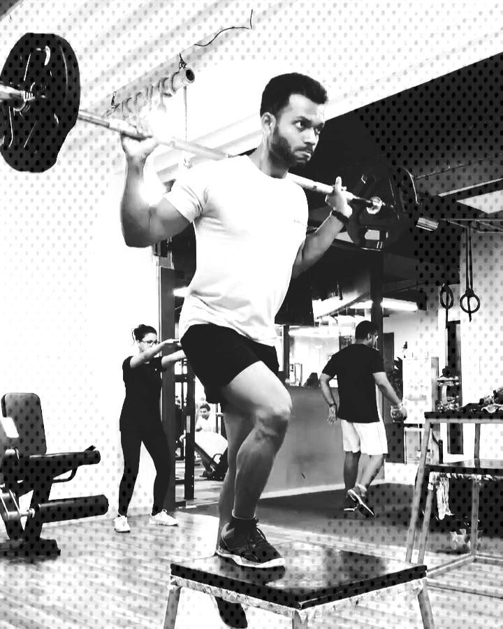 Barbell stepup It is a compound amp unilateral exercise which involves knee extension amp hip extensio