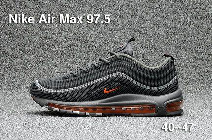 2017 2018 Frio Daily Nike Air Max Frio 2018 Gris Naranja Zapatos Para Correr 0eda2d