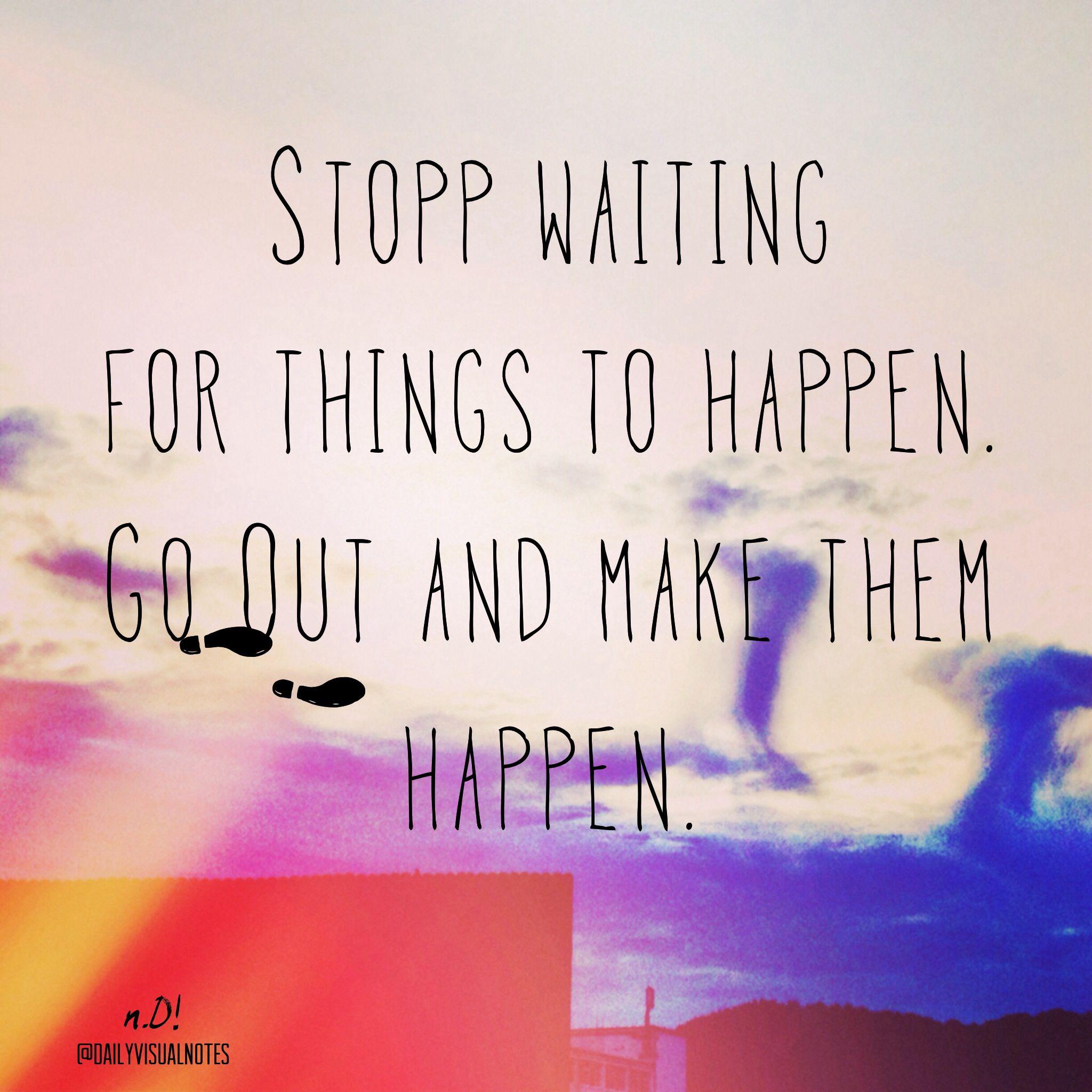 Auf was wartest du noch? | Warten