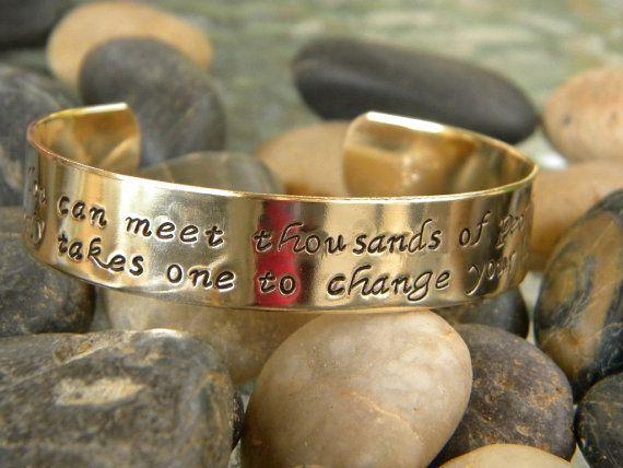 Friendship bracelet  You can meet thousands of by WordyWoman, $24.00