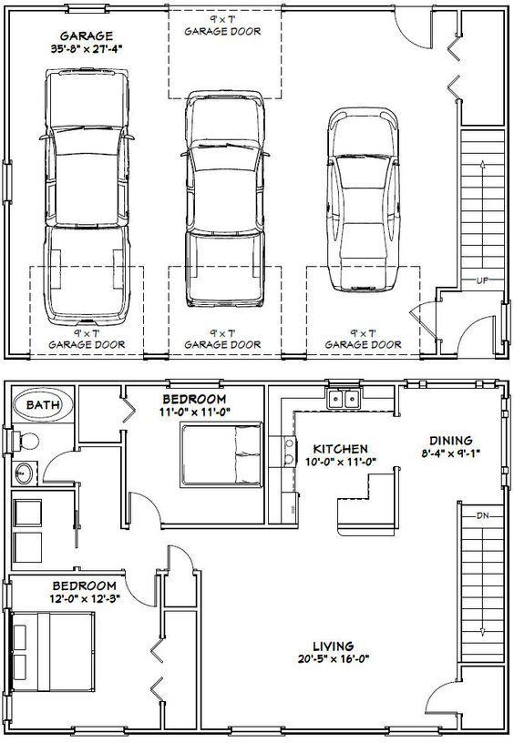 PDF house plans garage plans shed plans – Barndominium Floor Plans With Garage