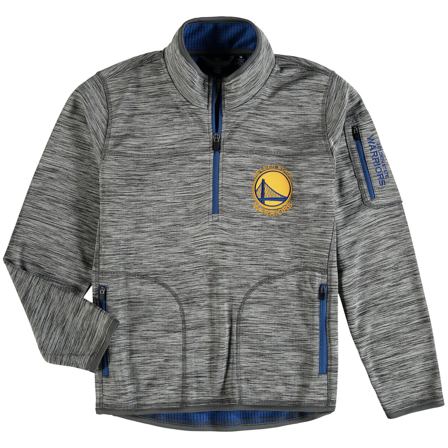 Golden State Warriors G-III Sports by Carl Banks Heathered Gray ...